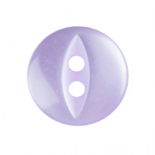 Fish Eye Button - Colour 011 Lilac - Choose Size 11mm-19mm